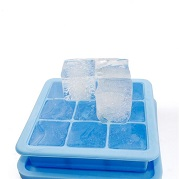 large ice cube tray with lid silicone