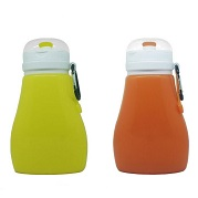 Customized collapsible water bottles