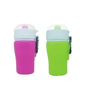 kid collapsible water bottle
