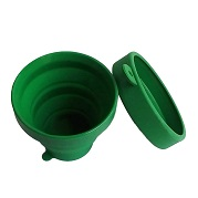 Portable Silicone collapsible drink cup supplier