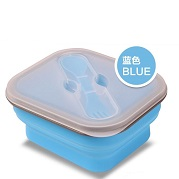 collapsible food container for student