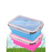 foldable food container silicone
