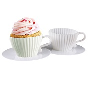 silicone cup shape muffin cups manufacturer