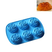 rose shape cupcake mold liner silicone wholesale