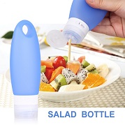 Silicone sauce bottle container