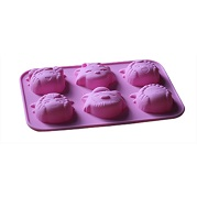 wolf and sheep baking liner mold silicone