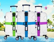 cross travel suitcase packing strap with buckle