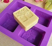 silicone handmade soap mould manufacturer