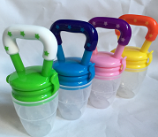 silicone baby food feeder teether toy