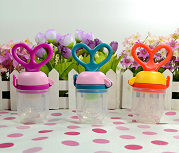 silicone baby food feeder teething toy
