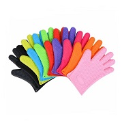 silicone heat resistant cooking gloves wholesale