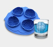 Cool brain ice cube molds wholesale