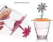 creative silicone cup cover supplier