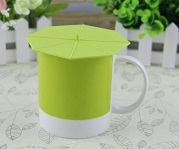 silicone mug lids with suction