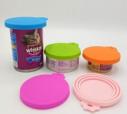 silicone canned lid for pet food
