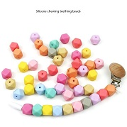 Silicone baby chew beads wholesale