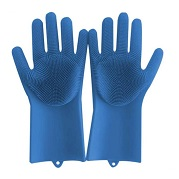 Wholesale silicone gloves with wash scrubber