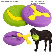 silicone pet  frisbee for dog