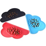 Anti-choke Silicone pet slow eating food bowl